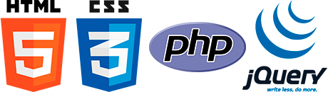 html5, css3,php,jquery